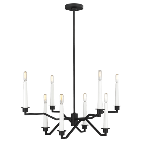 Hopton Chandelier Midnight Black