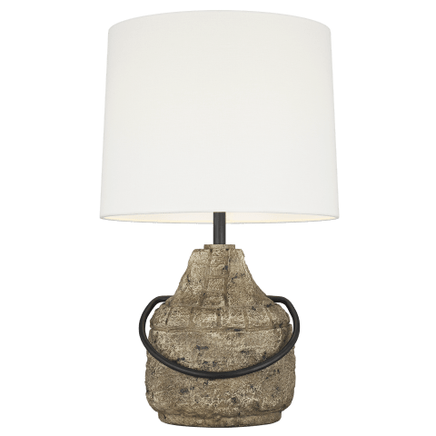 Augie 1 - Light Table Lamp Stone Bulbs Inc