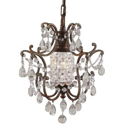 Maison De Ville 1 - Light Mini Duo Chandelier British Bronze