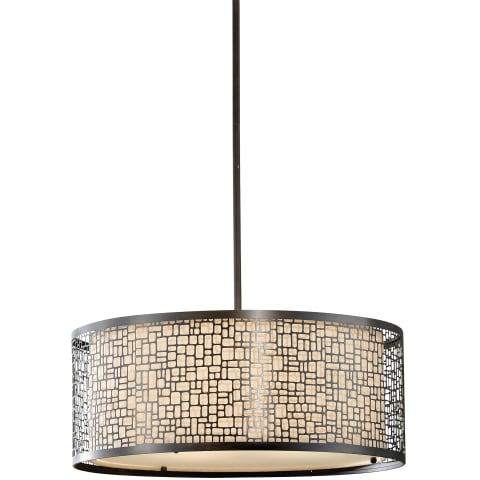 Joplin 3 - Light Large Pendant Light Antique Bronze