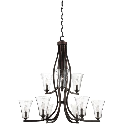 Marteau 9 - Light Chandelier Oil Rubbed Bronze