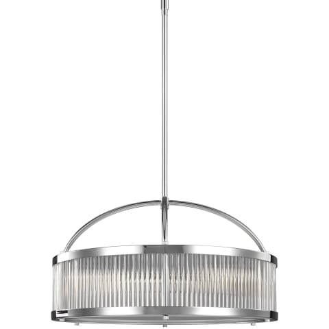 Paulson 3 - Light Drum Pendant Chrome