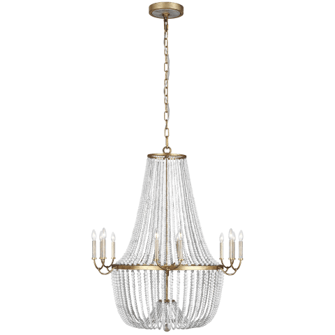 Marielle 12 - Light Chandelier Antique Gild