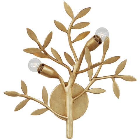 Mandeville Sconce in Antique Gold Leaf