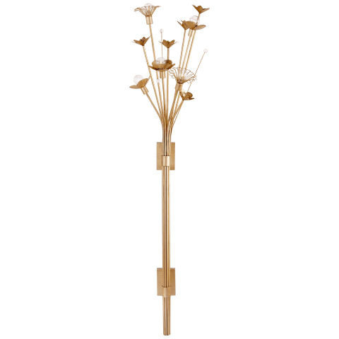 Keaton Large Bouquet Sconce in Gild