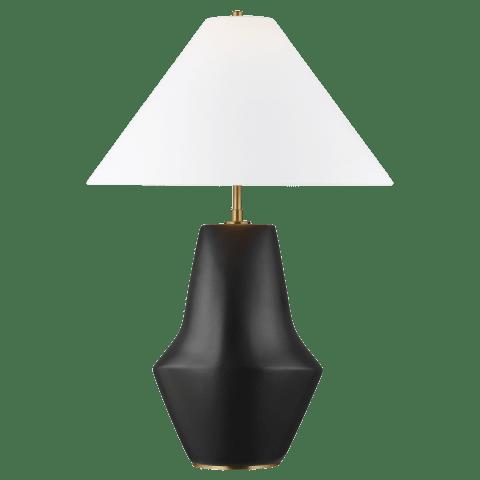 Contour Short Table Lamp Coal Bulbs Inc
