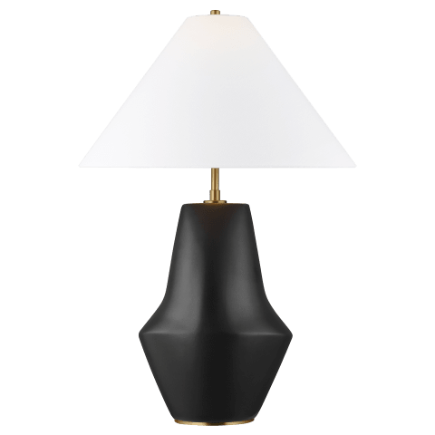 Contour Short Table Lamp Coal Bulbs Inc