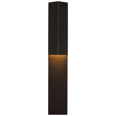 "Rega 30"" Folded Sconce in Bronze"