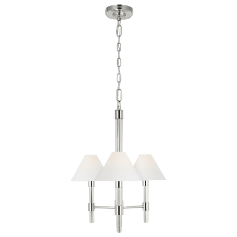 Robert Mini Chandelier Polished Nickel