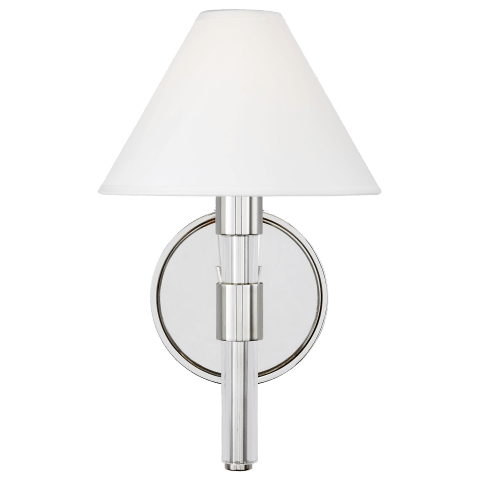 Robert Sconce Polished Nickel