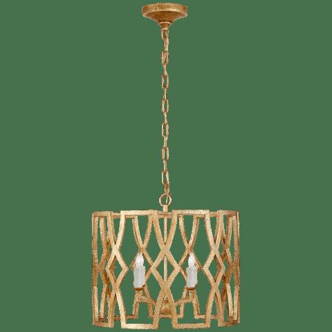 Brittany Small Lantern in Venetian Gold