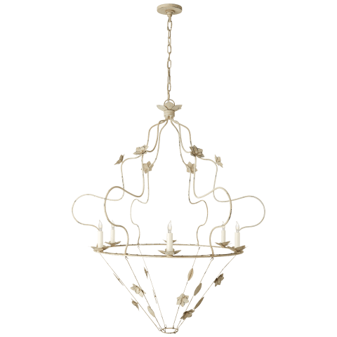 Arundel Grande Ornate Chandelier in Old White