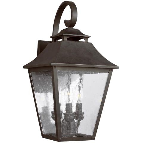 Galena 3 - Light Wall Lantern Sable