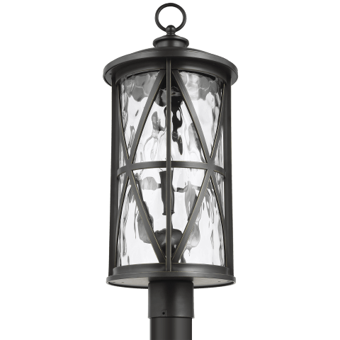 Millbrooke 3 - Light Outdoor Post Lantern Antique Bronze