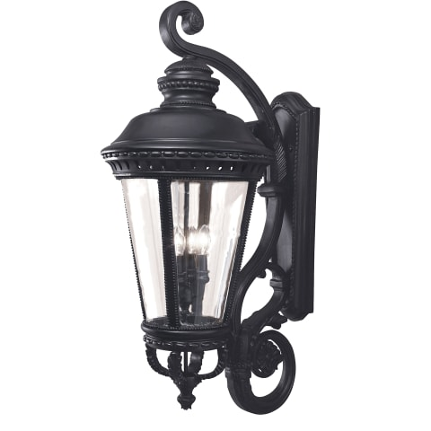 Castle Extra Large Lantern Black