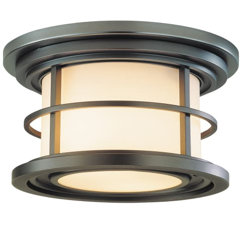 Lighthouse Flush Mount Burnished Bronze