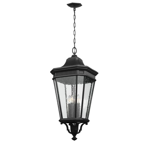 Cotswold Lane Large Pendant Black