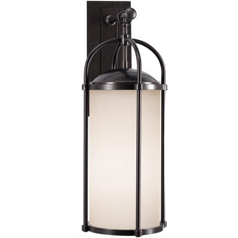 Dakota 1 - Light Wall Lantern Espresso