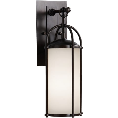Dakota 1 - Light Wall Lantern Espresso