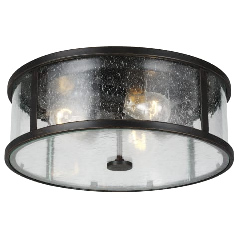Dakota 3 - Light Flush Mount Espresso
