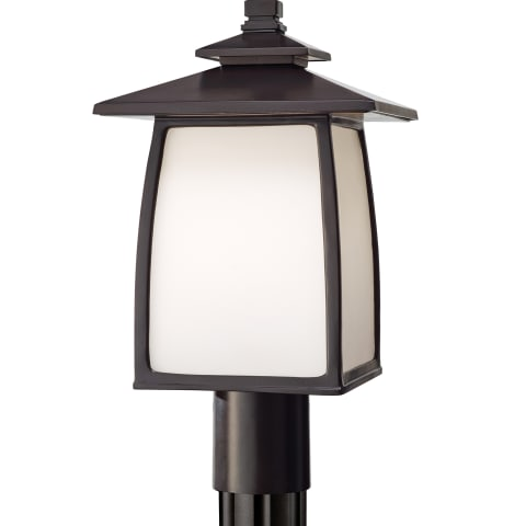 Wright House 1 - Light Outdoor Lantern Oil Rubbed Bronze