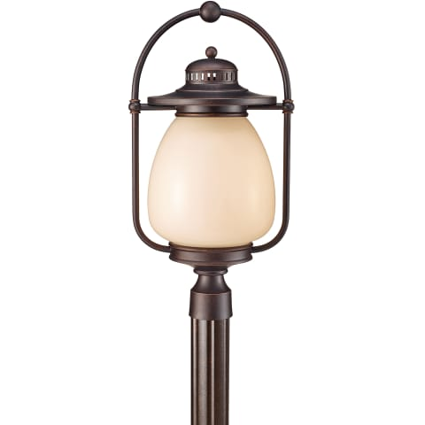 Mc Coy 1 - Light Outdoor Lantern Grecian Bronze