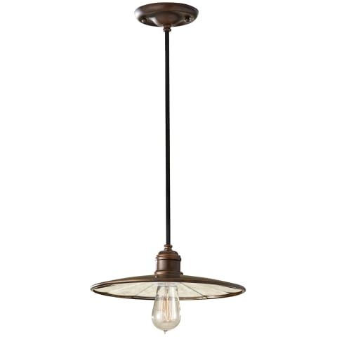 Urban Renewal 1-Light Mini Pendant Astral Bronze