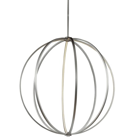 "Khloe 48"" LED Globe Pendant Oil Rubbed Bronze Bulbs Inc"
