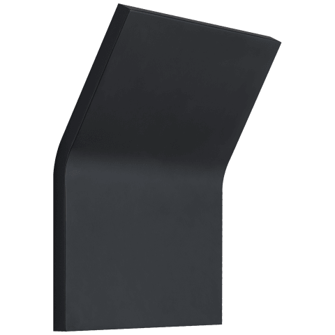 Bend Large Square Light in Matte Black