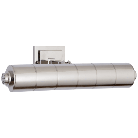 """Montgomery 16"""" Picture Light in Polished Nickel"""