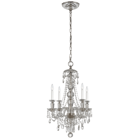 Daniela 4-Light Chandelier in Crystal