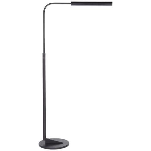 Austin Adjustable Floor Lamp in Aged Iron