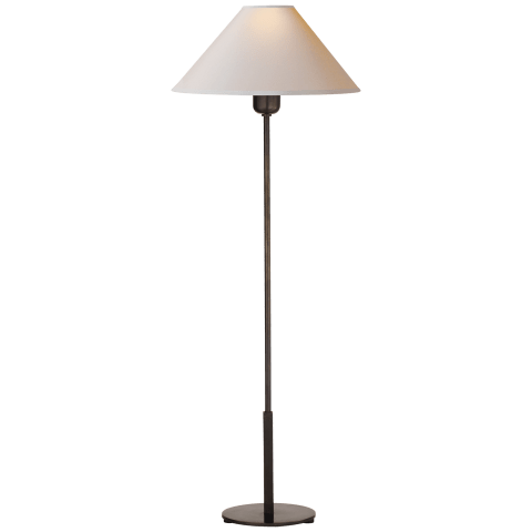 Hackney Buffet Lamp in Bronze with Natural Paper Shade
