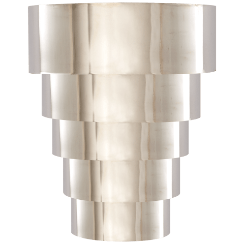 Micah Sconce in Polished Nickel