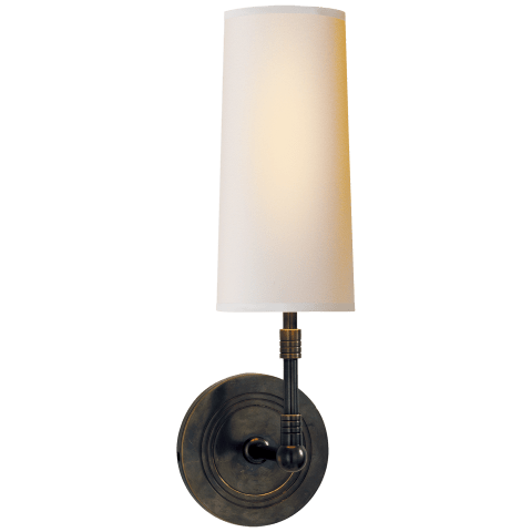 Ziyi Sconce in Bronze with Natural Paper Shade