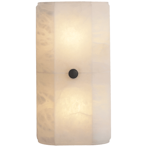 Roberto Tall Wall Light in Alabaster