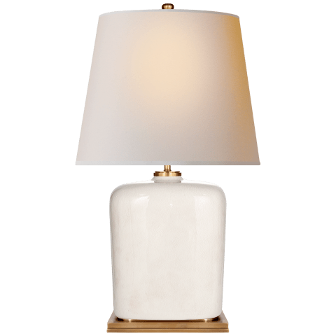 Mimi Table Lamp in Tea Stain with Natural Paper Shade
