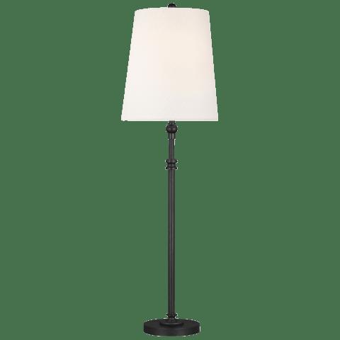 Capri 1 - Light Table Lamp Aged Iron Bulbs Inc