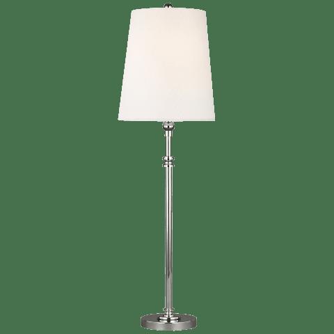 Capri 1 - Light Table Lamp Polished Nickel Bulbs Inc