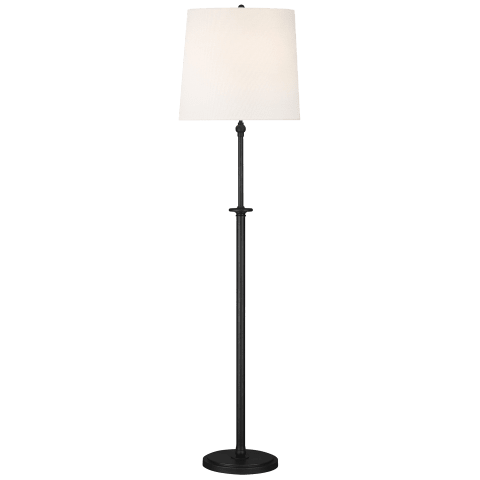 Capri Floor Lamp Aged Iron Bulbs Inc
