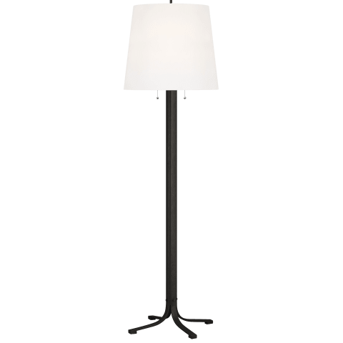 Logan Floor Lamp Aged Iron