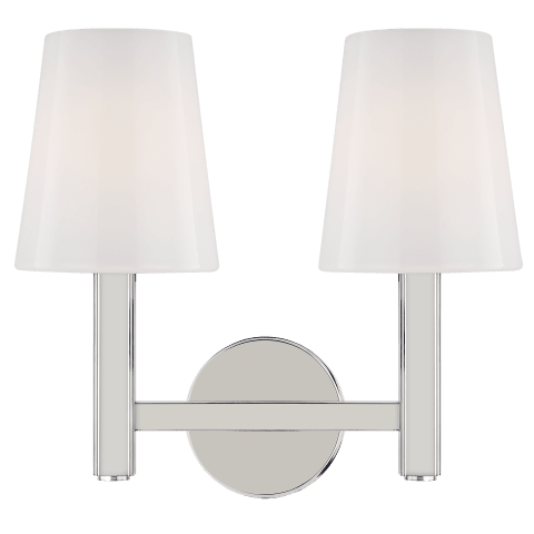 Logan 2 - Light Vanity Polished Nickel