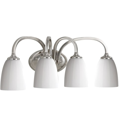 Perry 4 - Light Vanity Fixture Brushed Steel