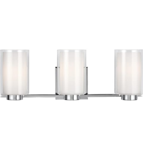 Bergin 3 - Light Vanity Chrome