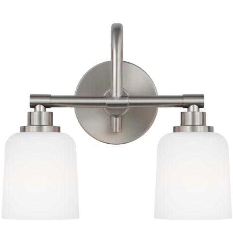 Reiser 2 - Light Vanity Satin Nickel