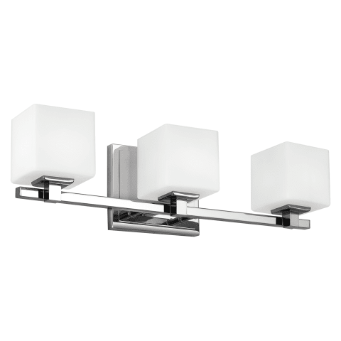 Sutton 3 - Light Vanity Chrome Bulbs Inc