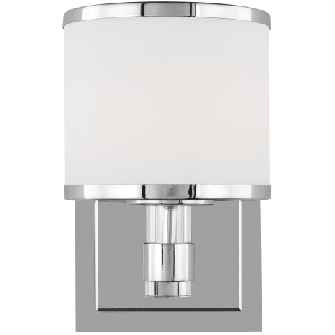 Winter Park 1 - Light Wall Sconce Chrome Bulbs Inc