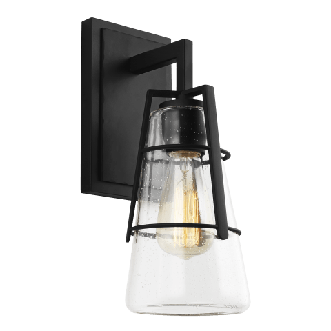 Adelaide 1 - Light Wall Sconce Midnight Black