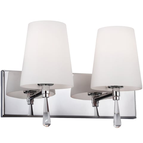 Monica 2 - Light Vanity Strip Chrome