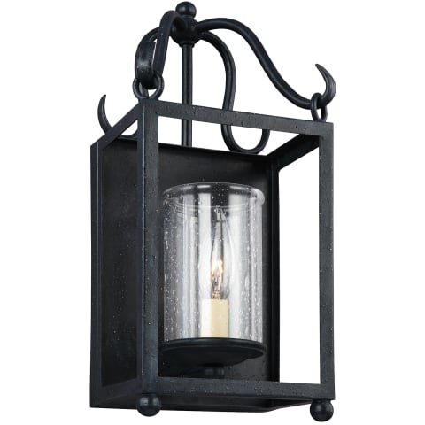 Declaration 1 - Light Sconce Antique Forged Iron